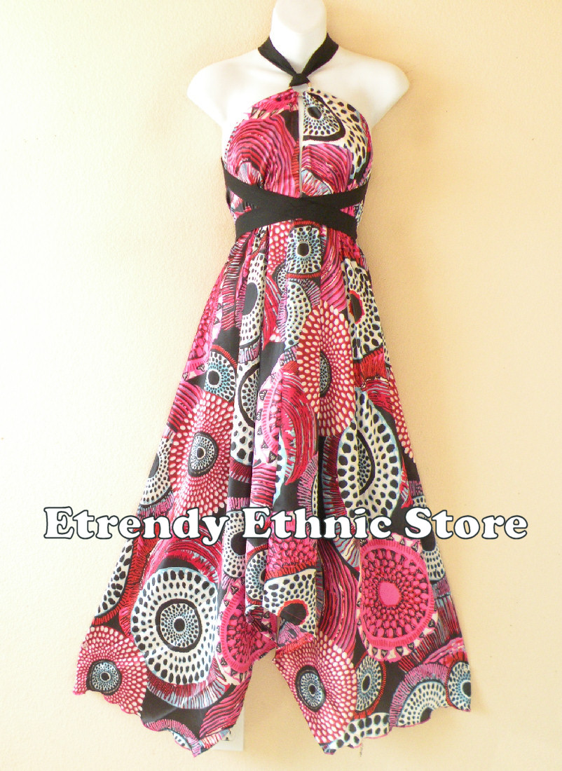 1SD113 - Multi Wear Silk Scarf Dress