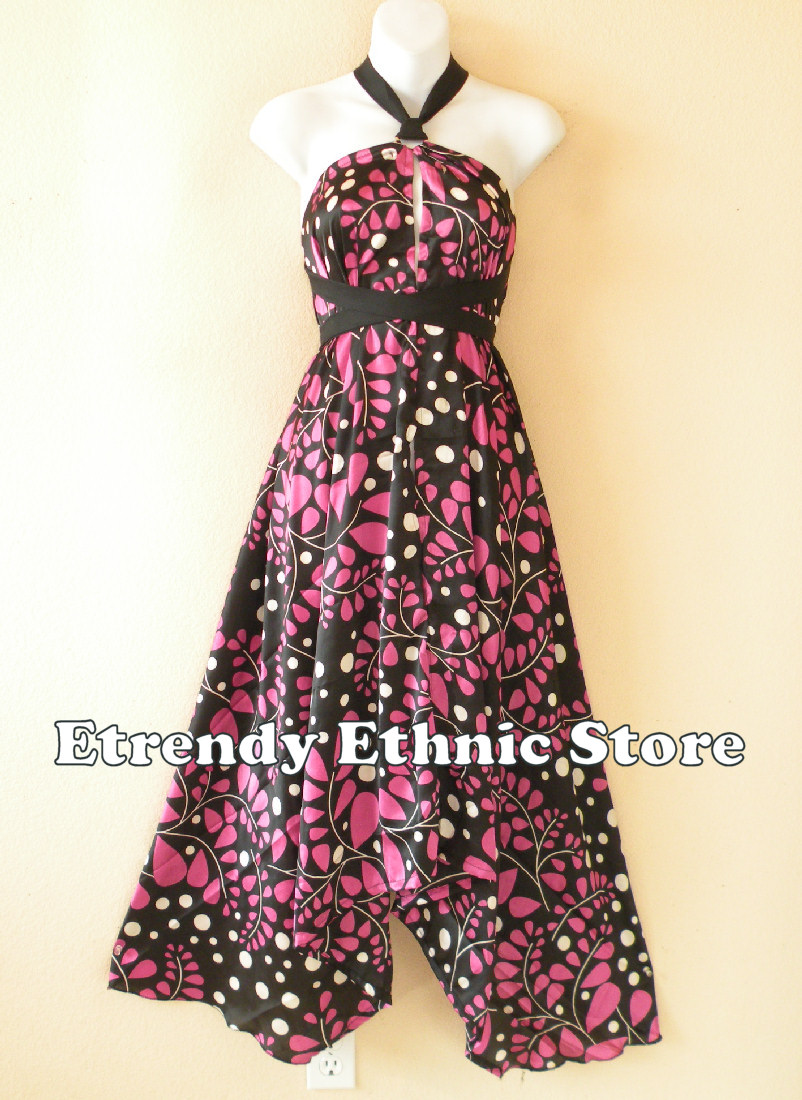 1SD115 - Multi Wear Silk Scarf Dress