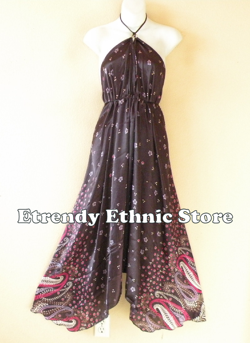 2SD108 - Multi Wear Silk Scarf Dress