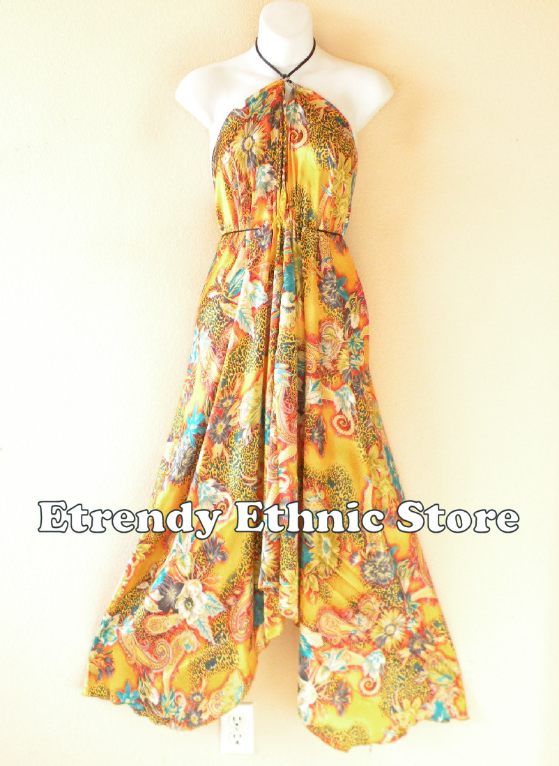 2SD110 - Multi Wear Silk Scarf Dress