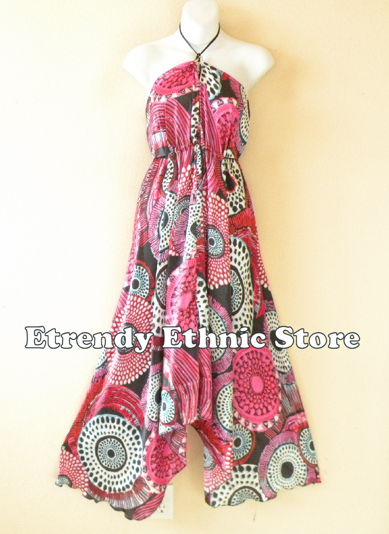 2SD111 - Multi Wear Silk Scarf Dress