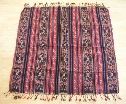 Ikat Tapestry Scroll Table Mat Wall Hanging
