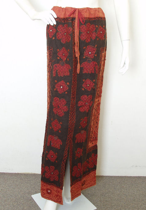 G12 Renaissance Heavily Embroidered Long Skirt