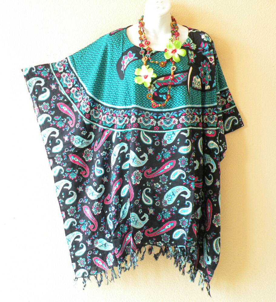 L11 Plus Size Kaftan Tunic Blouse Top