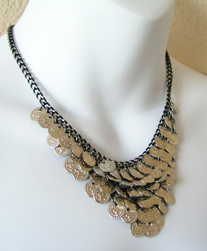 Victorian Bellydance Fashion Jewelry Beads Necklace Choker