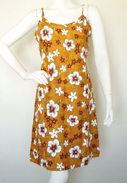 Batik Printed BoHo Hippie Gypsy Sun Dress